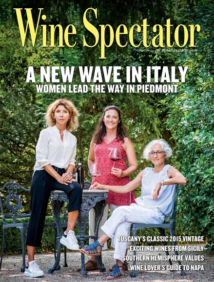 Wine Spectator Cover - 10/31/2018