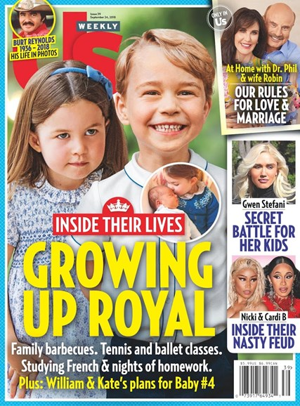 Us Weekly Cover - 9/24/2018