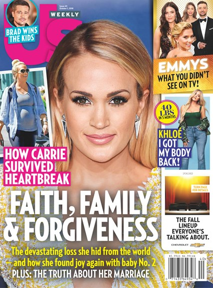 Us Weekly Cover - 10/1/2018