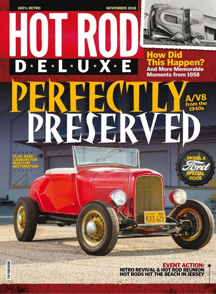 Hot Rod Deluxe Cover - 11/1/2018