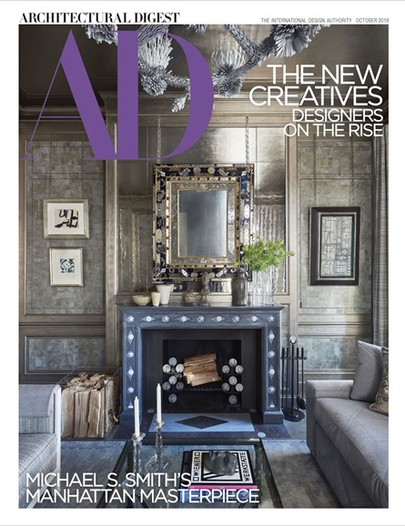 Architectural Digest Cover - 10/1/2018