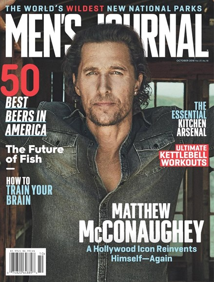 Men's Journal Cover - 10/1/2018