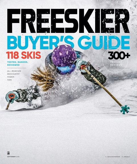 Freeskier Cover - 9/1/2018