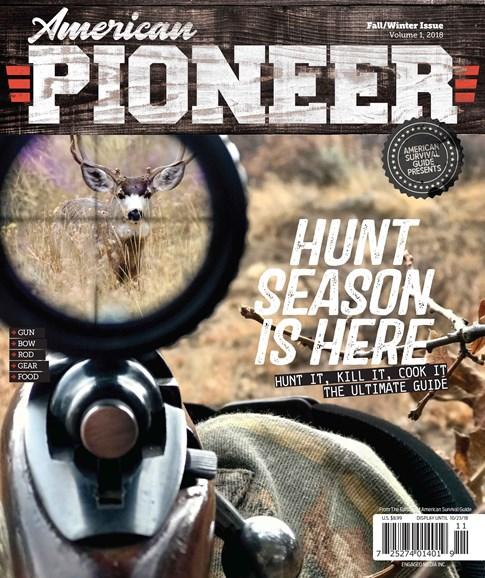 American Pioneer Cover - 11/1/2018