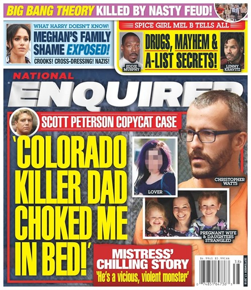 National Enquirer Cover - 9/17/2018