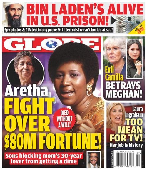 Globe Cover - 9/10/2018