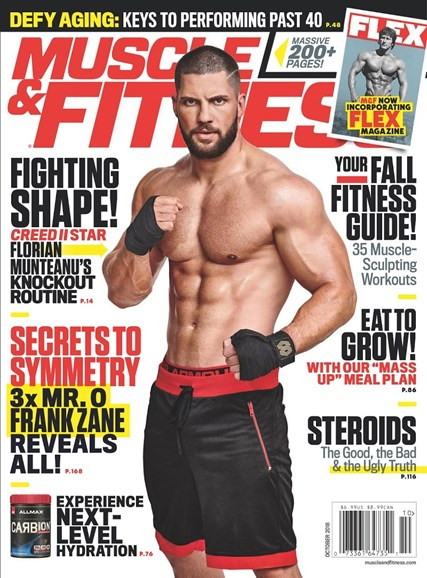 Muscle & Fitness Cover - 10/1/2018