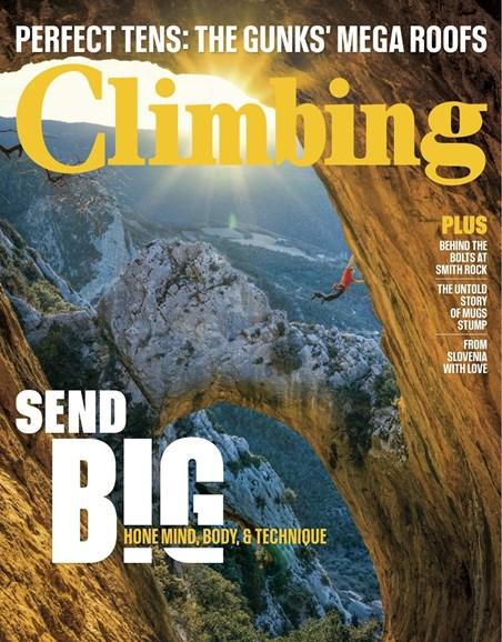 Climbing Magazine Cover - 10/1/2018
