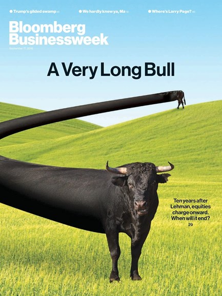 Bloomberg Businessweek Cover - 9/17/2018