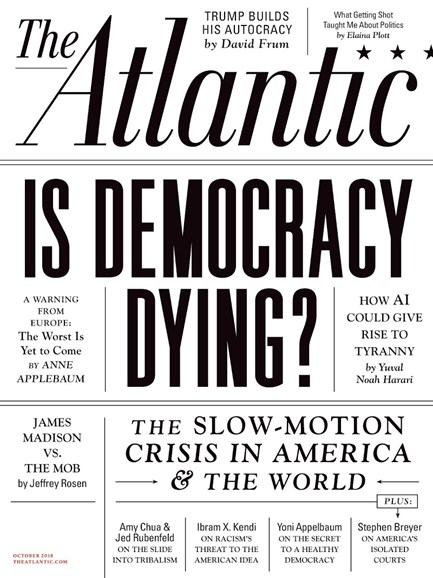 The Atlantic Cover - 10/1/2018