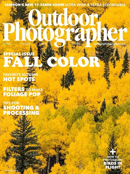 Outdoor Photographer Cover - 10/1/2018