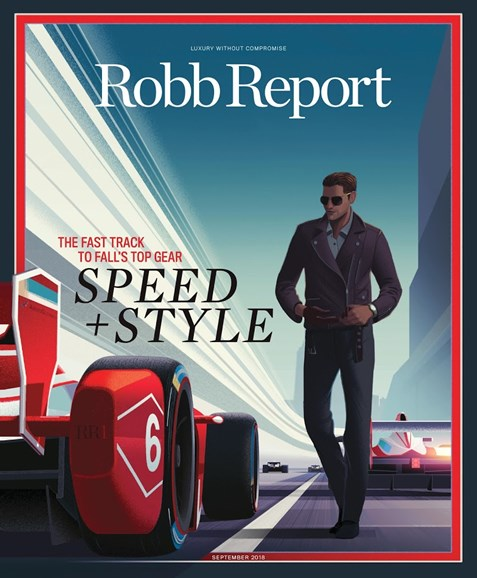 Robb Report Cover - 9/1/2018