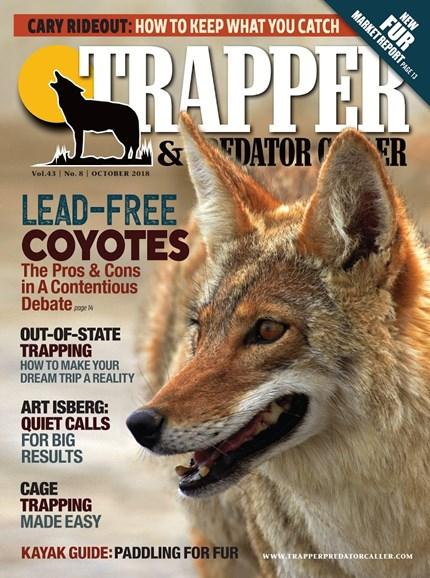 Trapper & Predator Caller Cover - 10/1/2018