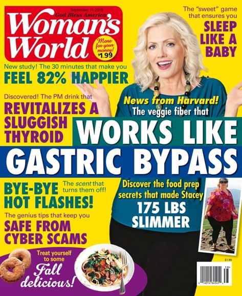 Woman's World Cover - 9/17/2018