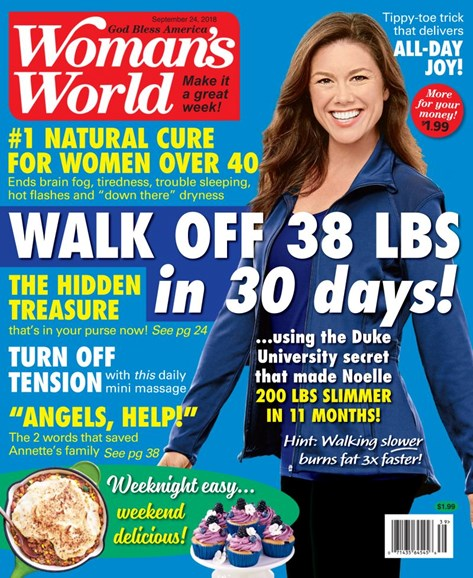 Woman's World Cover - 9/24/2018
