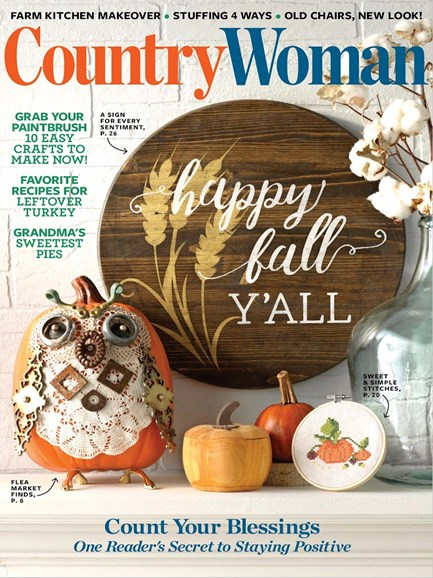 Country Woman Cover - 10/1/2018