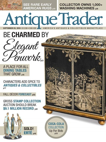 Antique Trader Cover - 9/26/2018