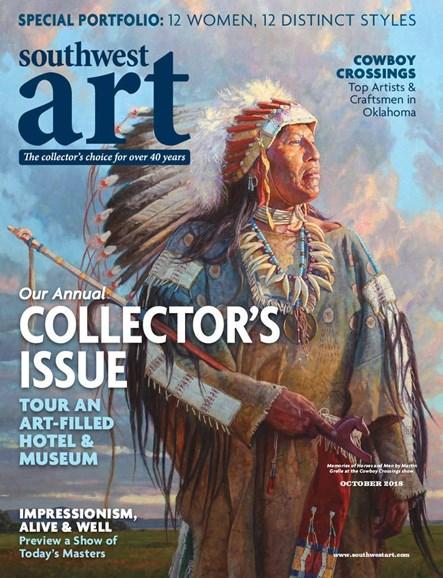 Southwest Art Cover - 10/1/2018