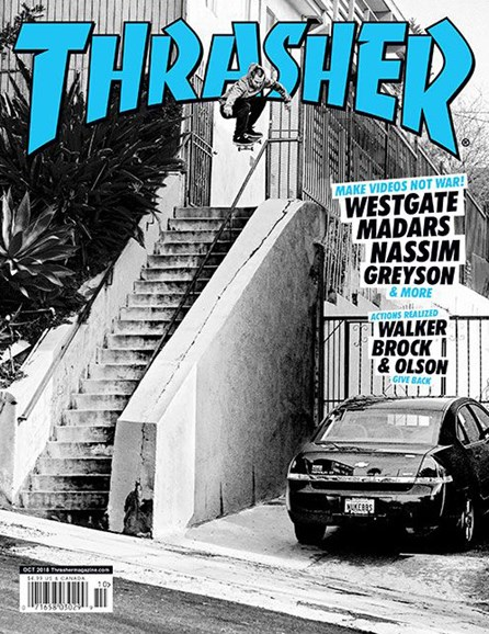 Thrasher Cover - 10/1/2018