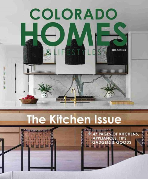 Colorado Homes & Lifestyles Cover - 9/1/2018