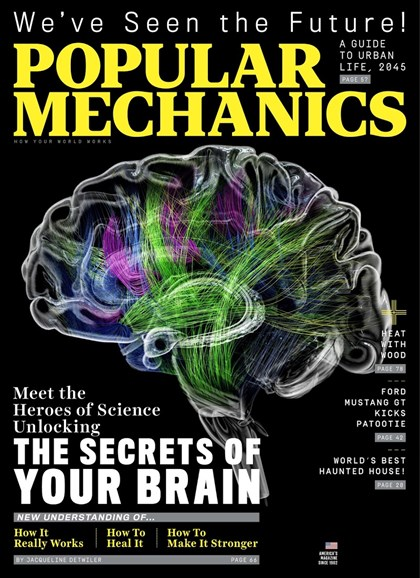 Popular Mechanics Cover - 10/1/2018