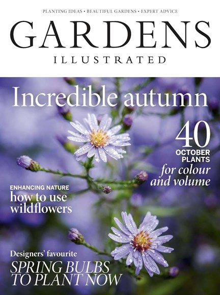 Gardens Illustrated Cover - 10/1/2018