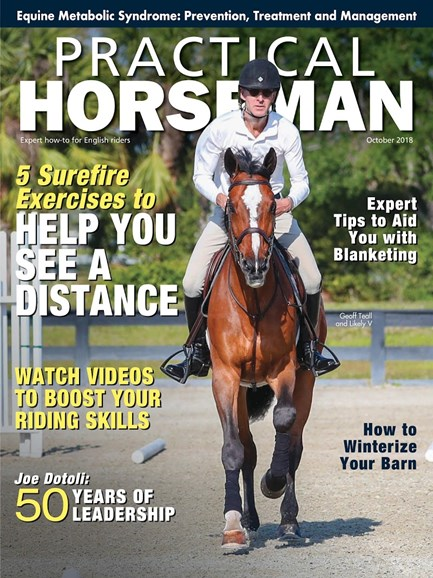 Practical Horseman Cover - 10/1/2018