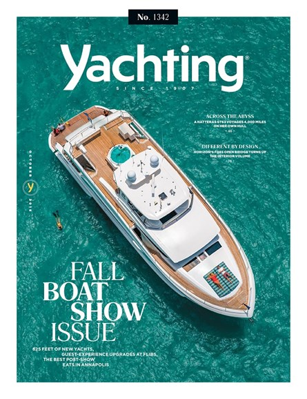 Yachting Cover - 10/1/2018