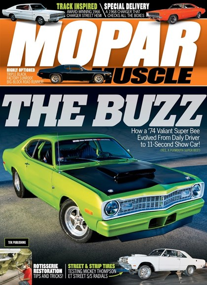 Mopar Muscle Cover - 12/1/2018