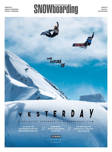 Transworld SNOWboarding Cover - 9/1/2018