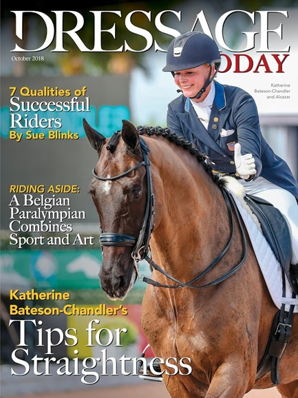 Dressage Today Cover - 10/1/2018