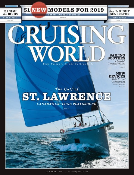 Cruising World Cover - 10/1/2018