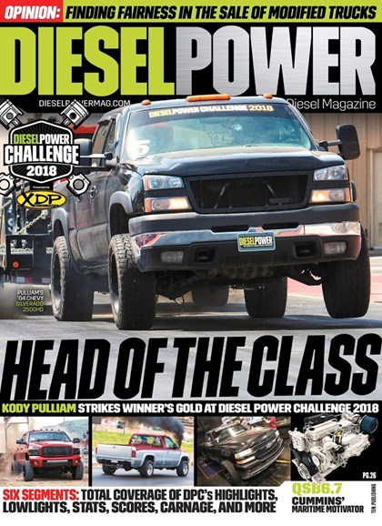 Diesel Power Cover - 11/1/2018