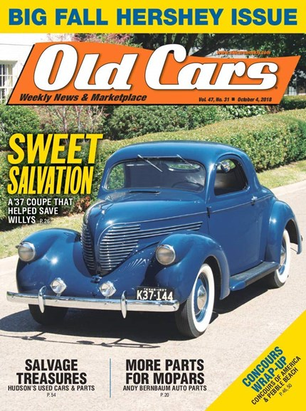 Old Cars Cover - 10/4/2018
