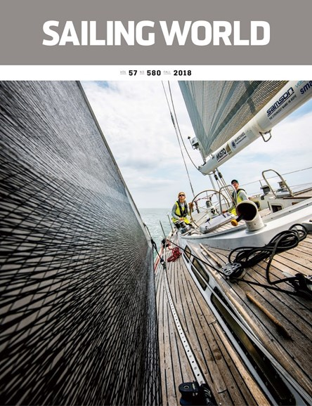 Sailing World Cover - 9/1/2018