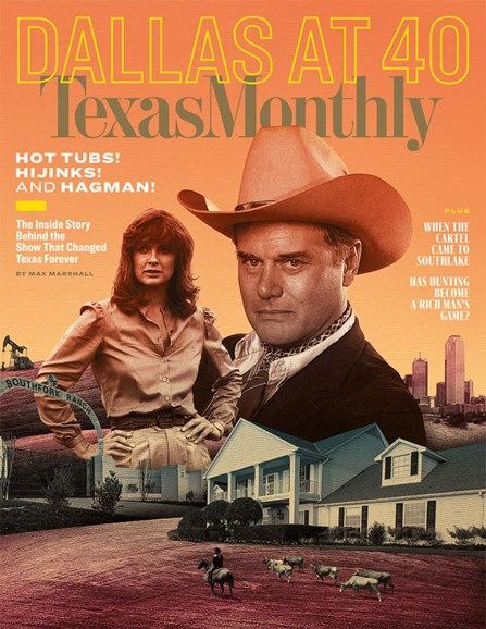 Texas Monthly Cover - 10/1/2018