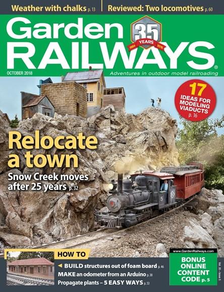 Garden Railways Cover - 10/1/2018