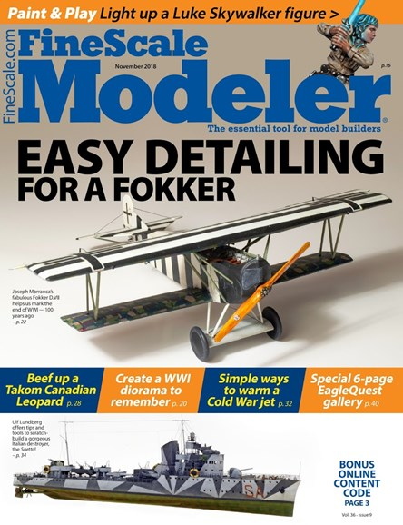 Finescale Modeler Cover - 11/1/2018