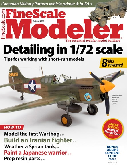 Finescale Modeler Cover - 10/1/2018