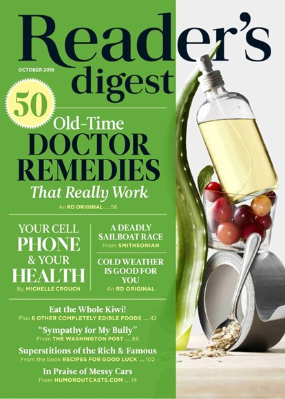 Reader's Digest Cover - 10/1/2018