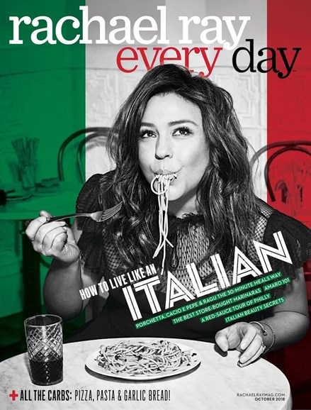 Rachael Ray Every Day Cover - 10/1/2018