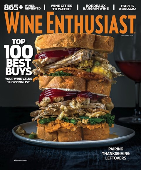 Wine Enthusiast Cover - 11/1/2018