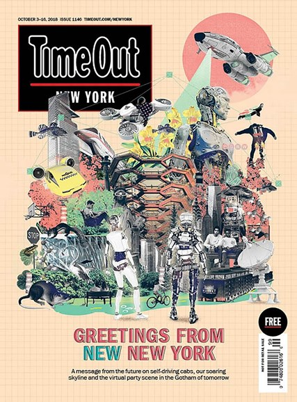 Time Out New York Cover - 10/3/2018