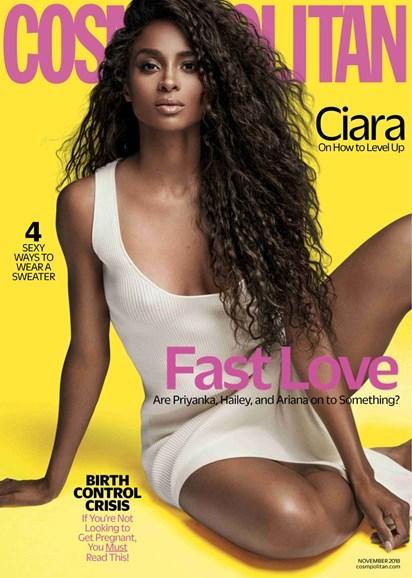 Cosmopolitan Cover - 11/1/2018
