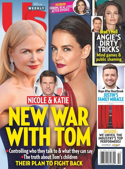 Us Weekly Cover - 10/15/2018