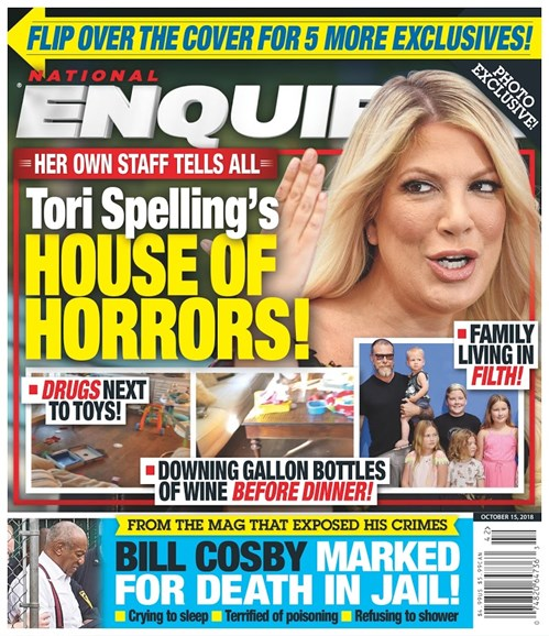 National Enquirer Cover - 10/15/2018