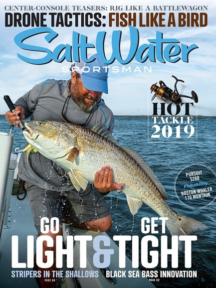 Salt Water Sportsman Cover - 10/1/2018