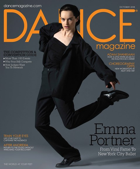 Dance Magazine Cover - 10/1/2018