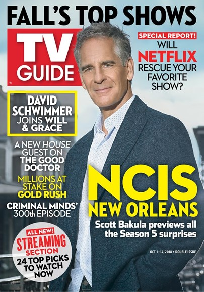 TV Guide Cover - 10/1/2018