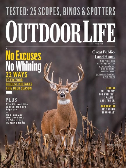Outdoor Life Cover - 9/1/2018